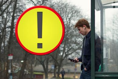 Brottsofferjourens lokala telefonnummer används vid bedrägeriförsök